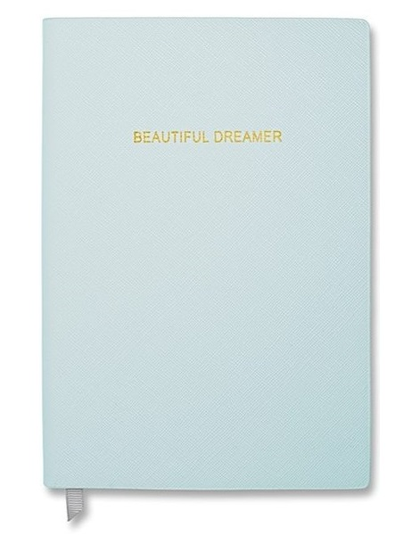 Katie Loxton Beautiful Dreamer Luxury Notebook Sky Blue