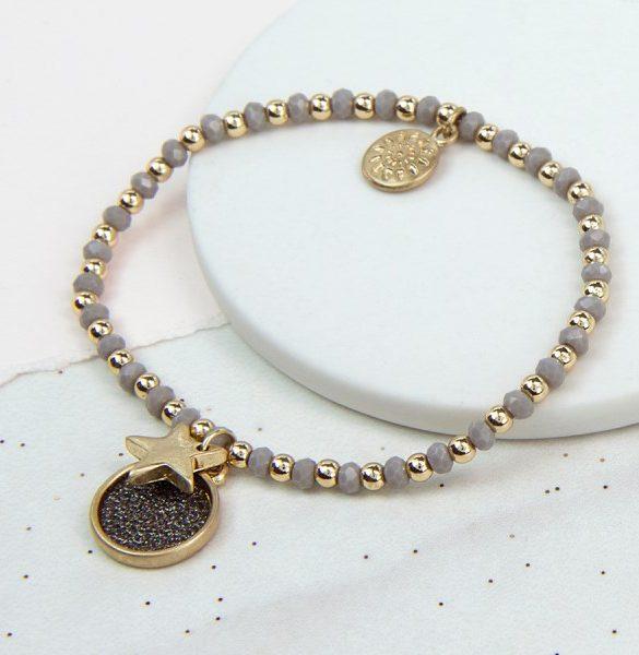 d-golden_glitter_disc_bracelet